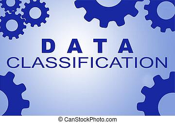 data, classificatie, concept