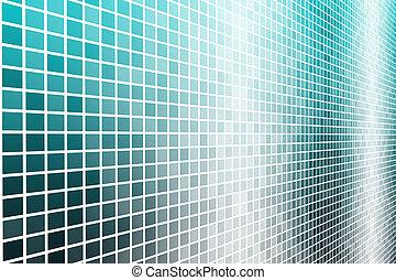 data, energie, mříž, síť, futuristický