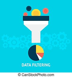 Data Filtering Flat Concept
