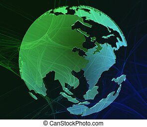 Data globe