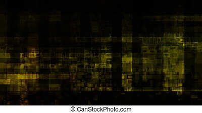 Data Grid Network Abstract Background as a Technology...