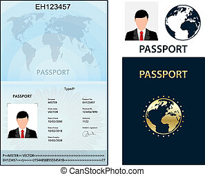 data., identification, document., passeport, biometric