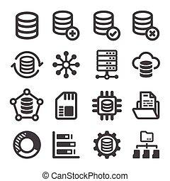 data, ikon