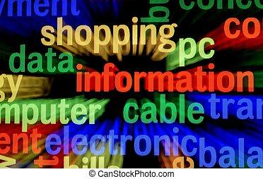 Data information concept