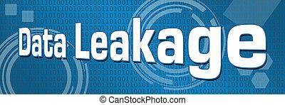 Data Leakage Technical Binary Background
