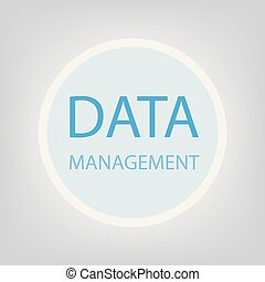 data management concept