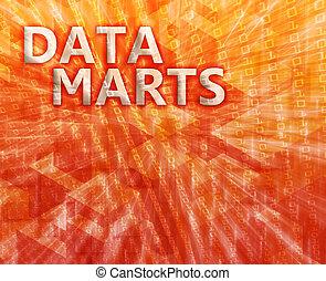 Data mart illustration