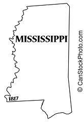 data, mississippi, estado