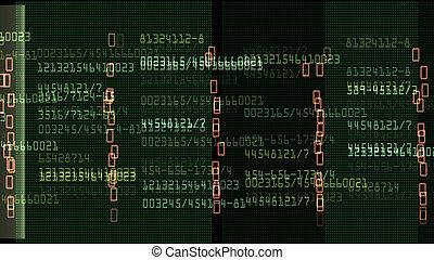 data, monitor, getallen