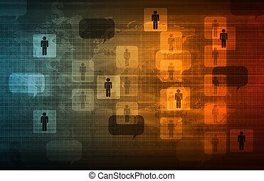 data, nätverk