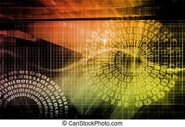 data, netværk