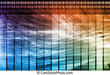 data, netværk, internet