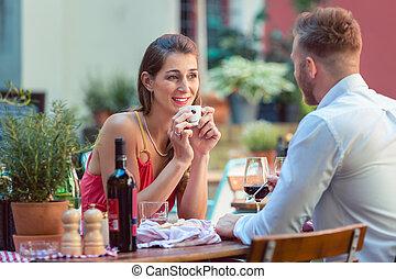 data, par, restaurante