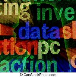 Data pc concept