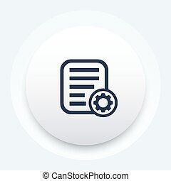 data process icon