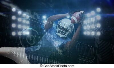 Data processing with football players training