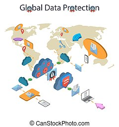 Data protection and safe work