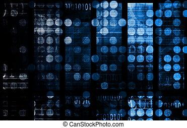 data, síť