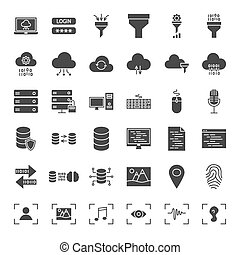 Data Science Solid Web Icons
