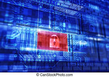 Data Security Concept - Computer and Data Security Concept...