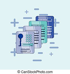 data security files icon