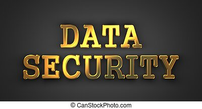 Data Security. Information Concept.