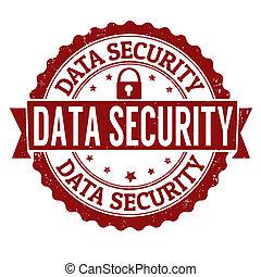 Data security stamp
