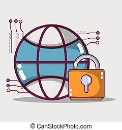 data server network center technology