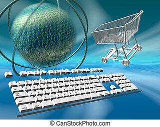 Data servers internet shopping