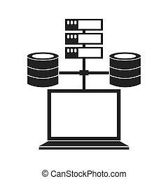 data storage design - data storage design, vector...