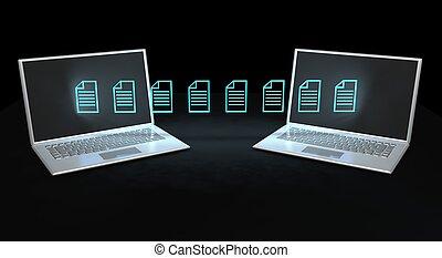 Data transfer concept