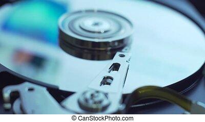 Data transfer. Hard disk