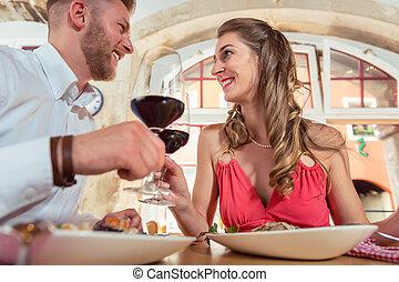 data, vidro, par, brindar, vinho