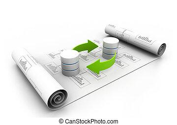 databanken, concept