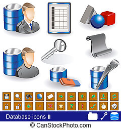 database, 2, icone