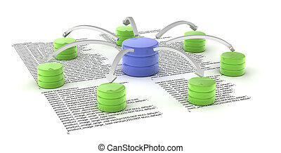 Database - A set of databases as concept for redundancy and...