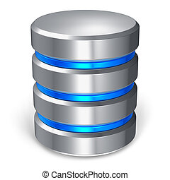 database, dysk, twardy, ikona
