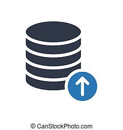 database glyph color icon