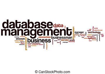 Database management word cloud