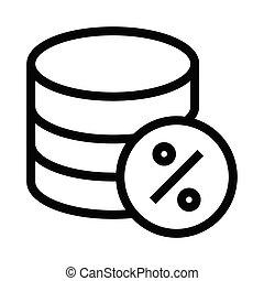 database percentage