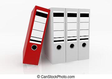 Database storage concept.