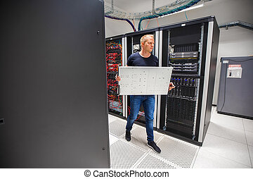 datacenter, ללכת, יועץ, להב, זה, שרת, בזמן, להביא