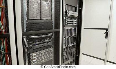 datacenter, berater, blatt, entfernt, ihm, server