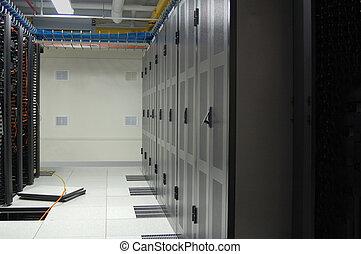 datacenter, fila, inteligência