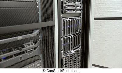 datacenter, lame, harddrive, il, serveur, installer, ...