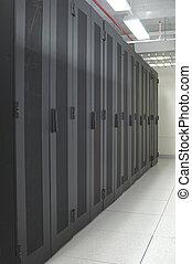 datacenter, -, schoonmaken