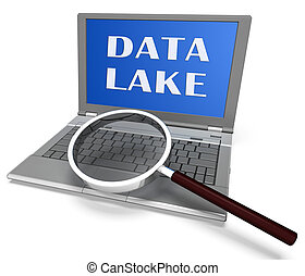datacenter, see, übertragung, digital, daten, wolke, 3d