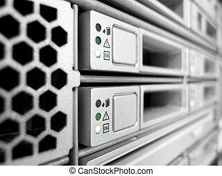 datacenter, server