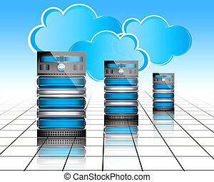 datacenter, serveurs
