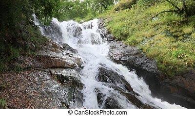 Datanla waterfall in Dalat, Vietnam - Amazing view of...